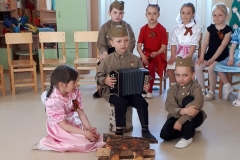 День победы в детском саду п. Кикерино 2019