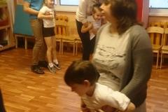 Совместное физкультурное занятие с родителями